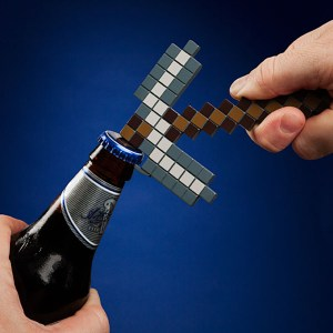 Minecraft Pickaxe Bottle Opener Shut Up And Take My Yen : Anime & Gaming Merchandise