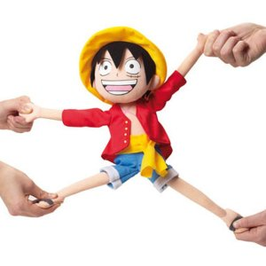 One Piece Luffy Elastic Plush Shut Up And Take My Yen : Anime & Gaming Merchandise
