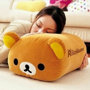 Rilakkuma Plush Rest Cushion Shut Up And Take My Yen : Anime & Gaming Merchandise