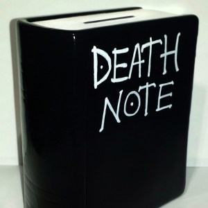 Death Note Coin Bank Shut Up And Take My Yen : Anime & Gaming Merchandise