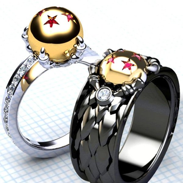 fire wedding nation naruto steel the ring logo rings anime stainless