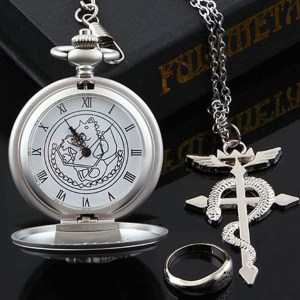 Fullmetal Alchemist Pocket Watch Shut Up And Take My Yen : Anime & Gaming Merchandise