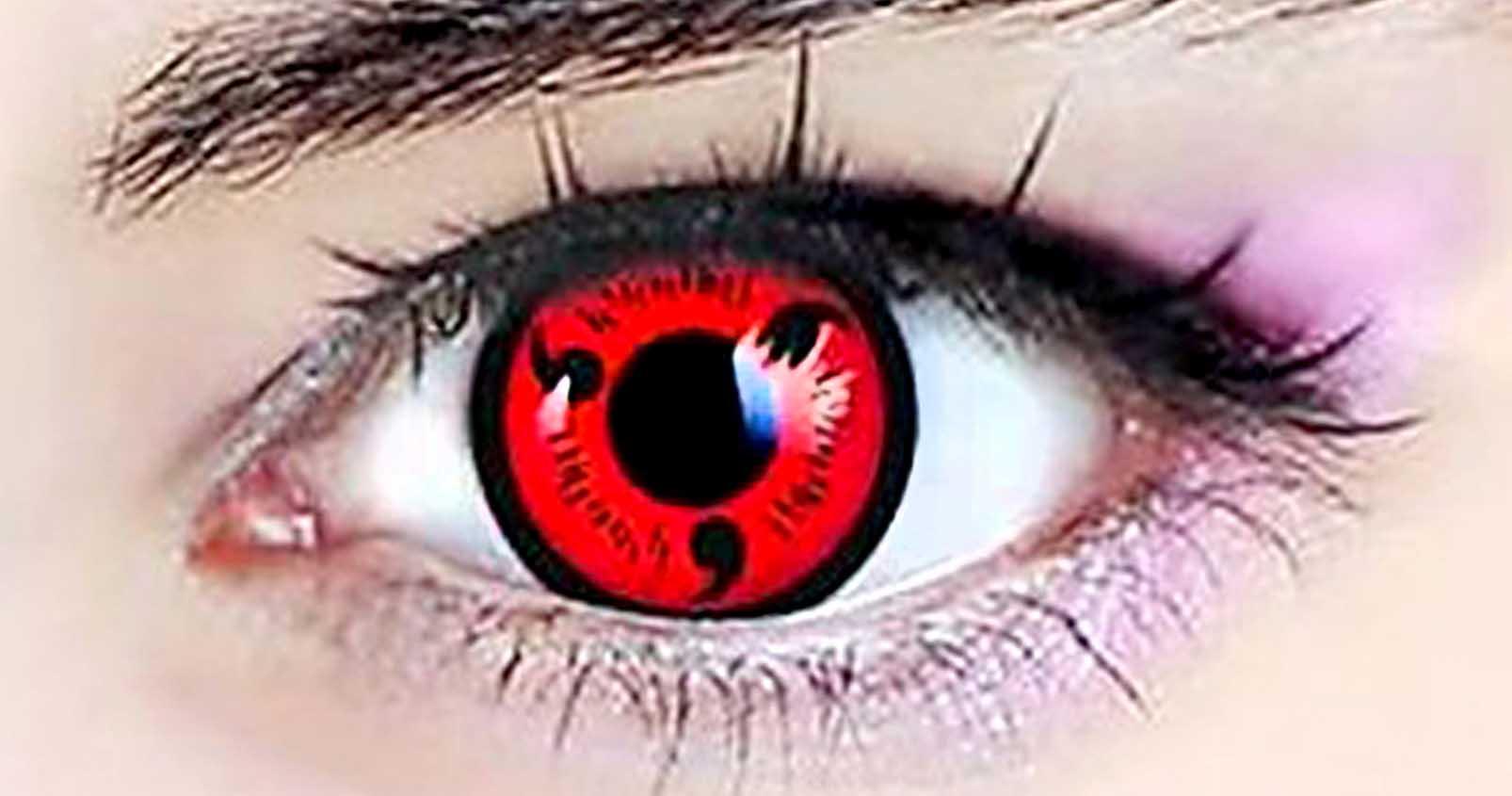 Naruto Sharingan Contact Lenses