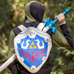 Legend Of Zelda Hylian Shield Backpack Shut Up And Take My Yen : Anime & Gaming Merchandise