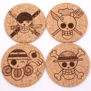 One Piece Cork Coasters Shut Up And Take My Yen : Anime & Gaming Merchandise