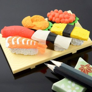 Sushi Erasers Shut Up And Take My Yen : Anime & Gaming Merchandise