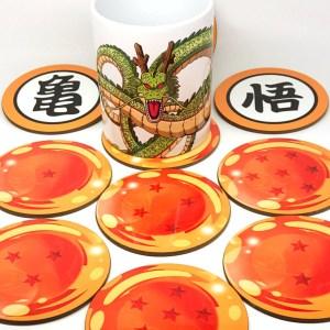 Dragon Ball Z Coasters Shut Up And Take My Yen : Anime & Gaming Merchandise