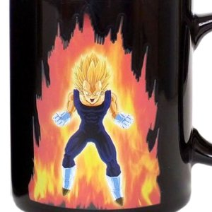 Heat Reactive Vegeta Mug Shut Up And Take My Yen : Anime & Gaming Merchandise