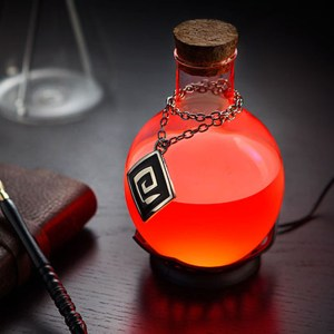 LED Potion Desk Lamp Shut Up And Take My Yen : Anime & Gaming Merchandise