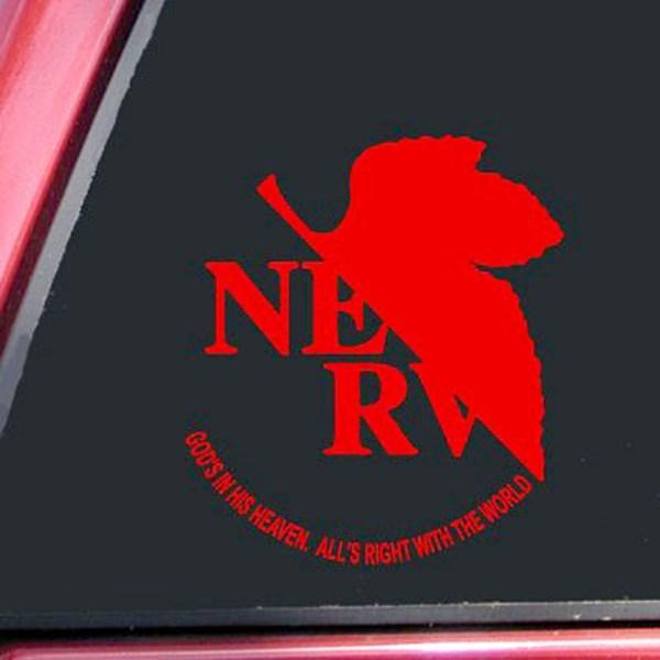 Neon Genesis Evangelion NERV Decal