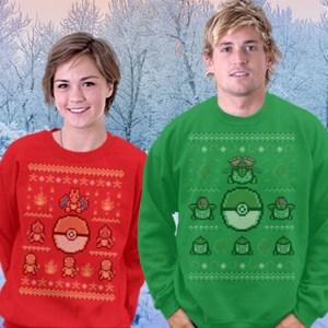 Ugly Pokemon Christmas Sweaters Shut Up And Take My Yen : Anime & Gaming Merchandise
