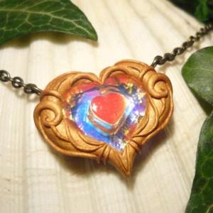 Legend Of Zelda Twilight Princess Heart Piece Necklace