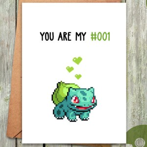 Pokemon Valentines Day Cards