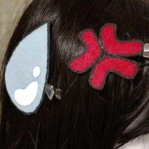 Anime Hair Clips