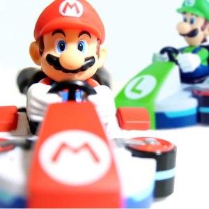 Mario Kart Wall Climber