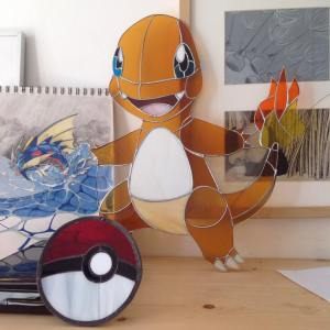 Pokemon Stained Glass