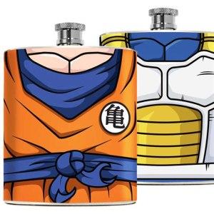 Dragon Ball Z Flasks