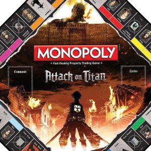 Attack On Titan Monopoly