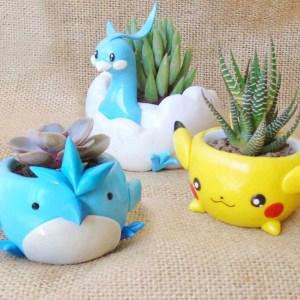 Pokemon Clay Pots
