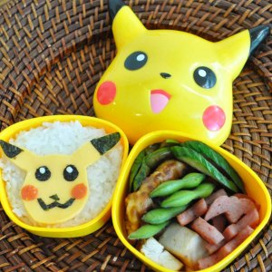 Pokemon Pikachu Bento Box