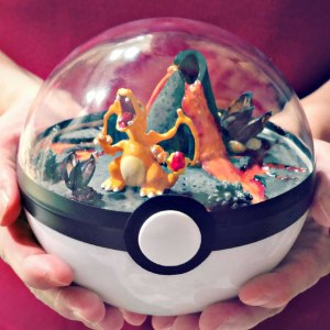 Pokemon Pokeball Terrariums