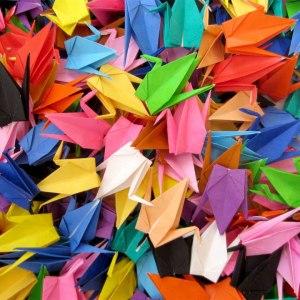 100 Paper Cranes