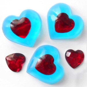 Legend of Zelda Heart Soap