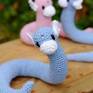 Poseable Crocheted Dratini