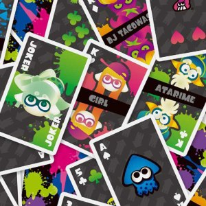 Splatoon Playing Cards