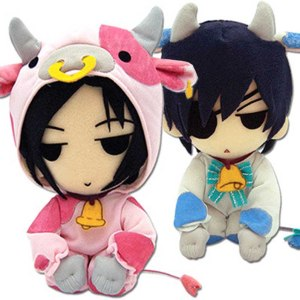 Black Butler Cow Cosplay Plushies