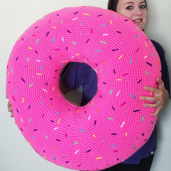 Giant Donut Pillow Shut Up And Take My Yen