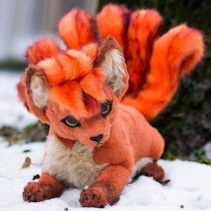 Pokemon Vulpix Plush 2