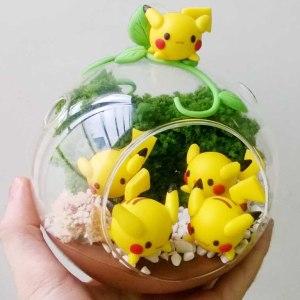 Pikachu Nest Terrarium