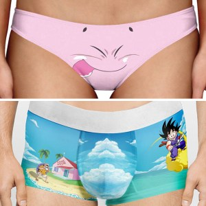 Dragon Ball Z Underwear