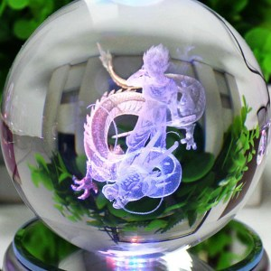 Dragon Ball Z Goku & Shenron LED Crystal Ball
