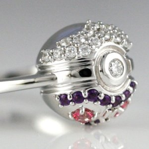 Master Ball Engagement Ring