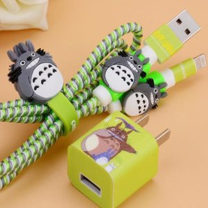 My Neighbor Totoro iPhone Charger Protector