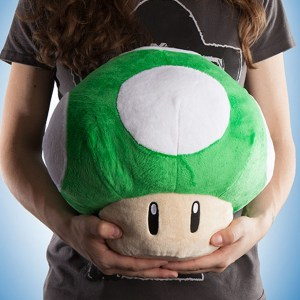 Super Mario 1-Up Mushroom Plush