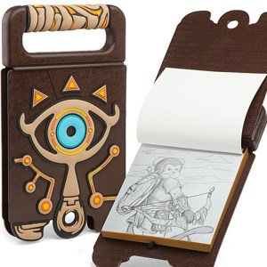 Legend Of Zelda Sheikah Slate Sketchbook