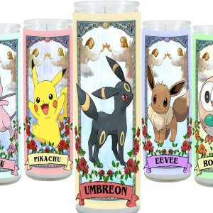 Pokemon Prayer Candles