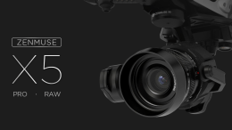 DJI Introduces the DJI Zenmuse X5 Series