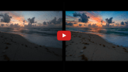 How to edit a Beachscape in Adobe Lightroom