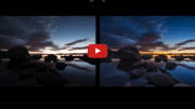 How to edit a beautiful sunset photograph in Adobe Lightroom