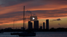 Miami Beach Sunset Timelapse