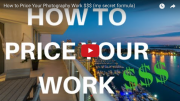 How to price your photography work