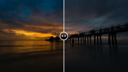 How to create a dramatic oceanscape in Lightroom