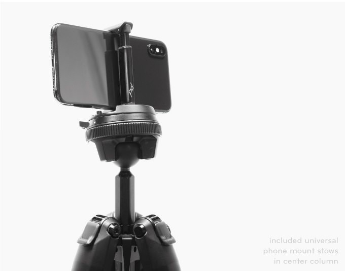 peak design travel tripod for your phone on sale