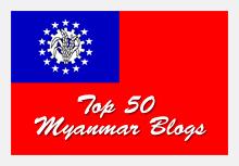 Top 50 Myanmar Blogs