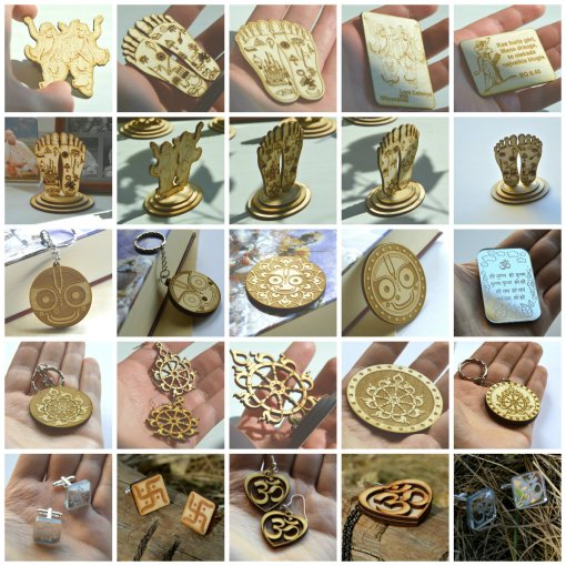 Vaishnava Jewelry Collage