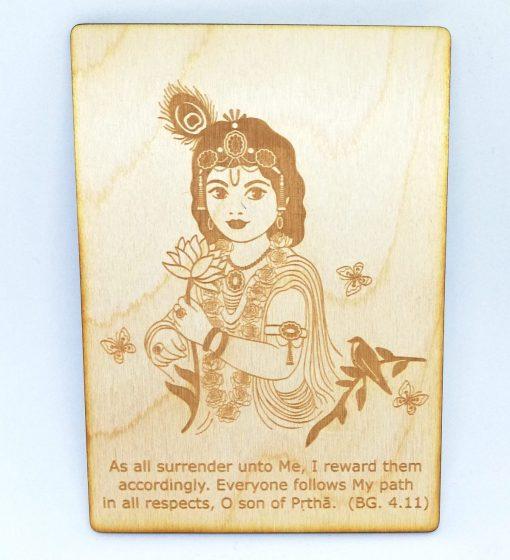 Radharani Postcard